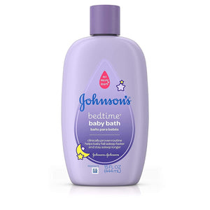 Johnsons Baby Bed Time Bubbble Wash 444ml (A) - enemmall.com