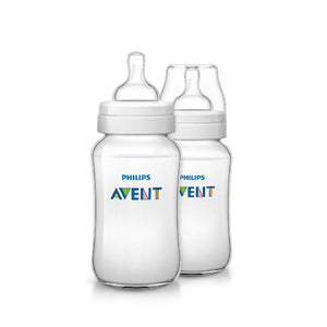 AP Baby Feeding Bottle Classic+ 125ml Pack Of 2 SCF560/27 (1820) (A+) - enemmall.com