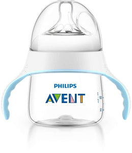 AP Baby Feeding Bottle With Handle Natural 150ml SCF251/00 (ID1826) (A+) - enemmall.com