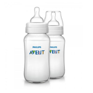 AP Baby Feeding Bottle Classic+ 330ml Pack Of 2 SCF566/27 (ID1828) (A+) - enemmall.com