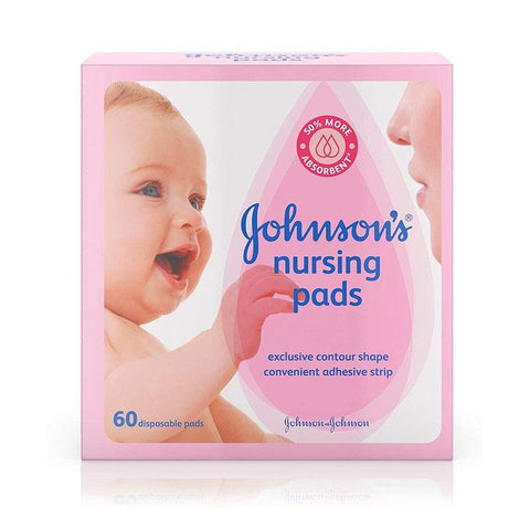 Johnsons Baby Nursing Pads 60 Pcs
