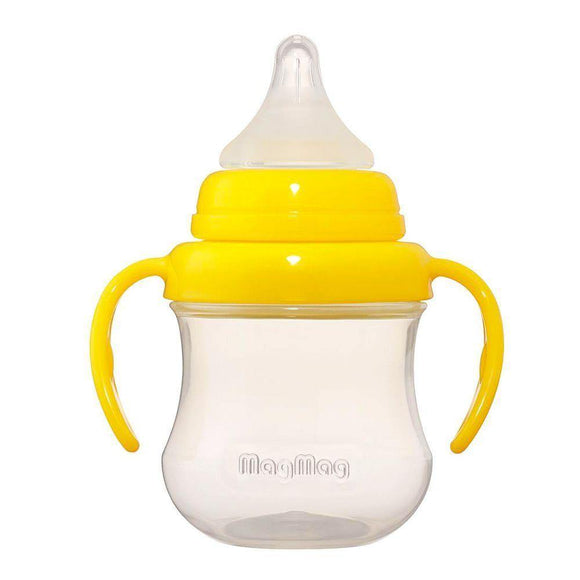 Pigeon Baby MagMag Nipple Cup 3+M 200ml D163 (Yellow)