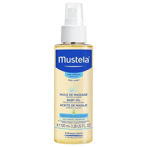 Mustela Baby Massage Oil 100ml (ZZ) (A)
