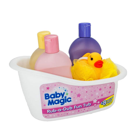 B/M Rub A Dub Fun Tub 3pcs Gift Tub With Duck 070075 - enemmall.com