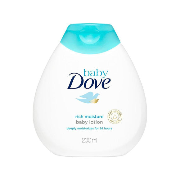 Dove Baby Lotion Rich Moisture 200ml - enemmall.com