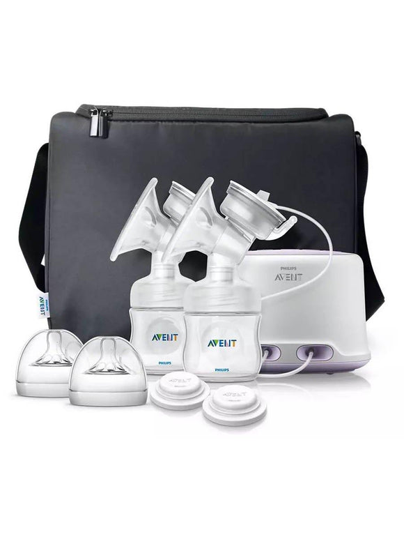 AP Baby Natural Electric Breast Pump Double SCF334/02 ID1854 (A+) - enemmall.com