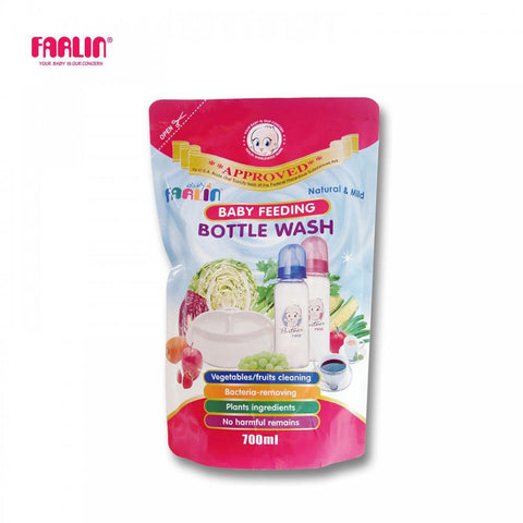 Farlin Baby Bottle Wash Refill 700ml BF-200A - enemmall.com