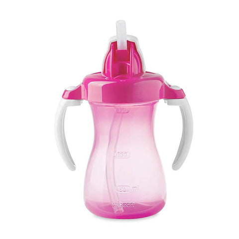 Pigeon Baby Petite Straw Bottle 150ML Pink D150 (A) - enemmall.com
