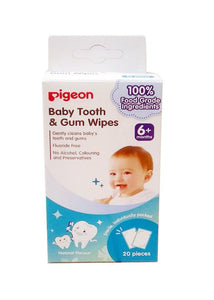 Pigeon Baby Tooth & Gum Wipes Natural H78290-1