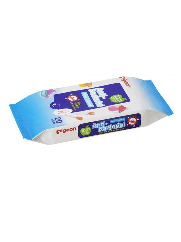 Pigeon Baby Anti Bactarial Wet Tissue 20pcs P26350