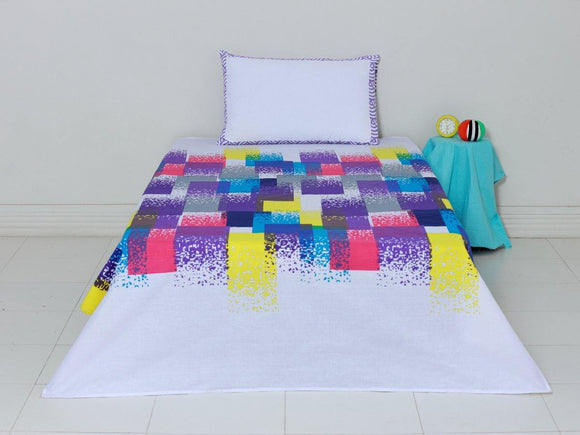 SEJ Kids Bedsheet Rainbow Afterglow