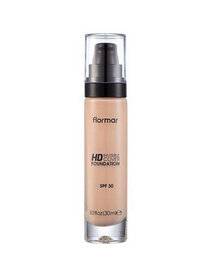 Flormar Invisible Cover Hd Foundation Procelain 20
