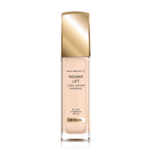 Max Factor Long Lasting Radiance Founndation  NATUR 050 30m1 6567 - enemmall.com