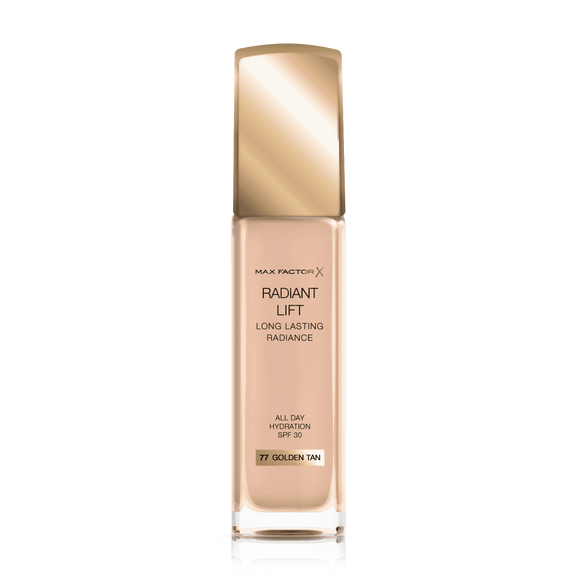 Max Factor Long Lasting Radiance FounndationGLDTAN077 30m1 6572 - enemmall.com