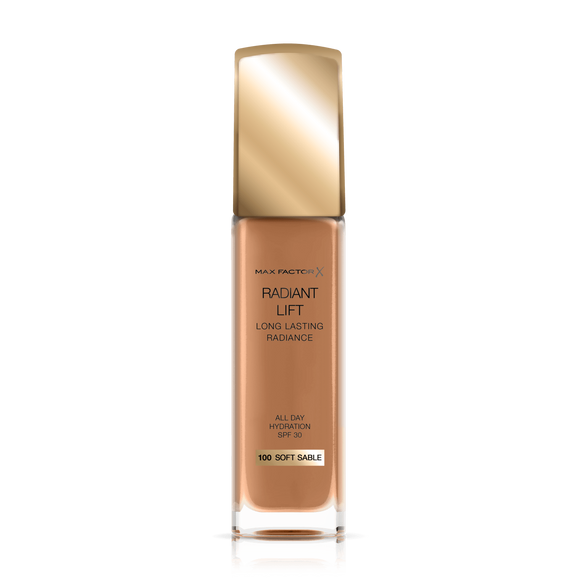 Max Factor Long Lasting Radiance Founndation SO SAB100 30m1 6578 - enemmall.com