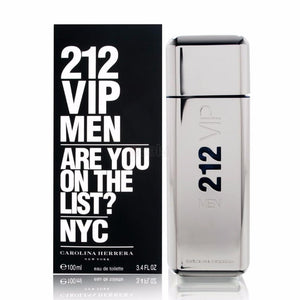 Carolina Herrera Men Perfume 212 VIP Men Are You On The List? 100ml - Enem Store - Online Shopping Mall. The Generations Store