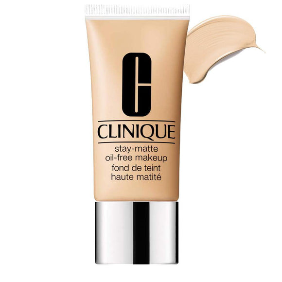 Clinique Foundation Stay-Matte Oil-Free Makeup Foundation 30ml 1 Linen (Vf-N) - enemmall.com