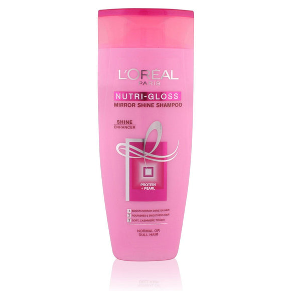 Loreal Nutri-Gloss mirror Shine Shampoo 175ML - enemmall.com
