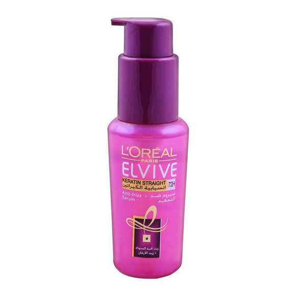 LOREAL PARIS ELVIVE KERATIN STRAIGHT 72H 50ML - enemmall.com
