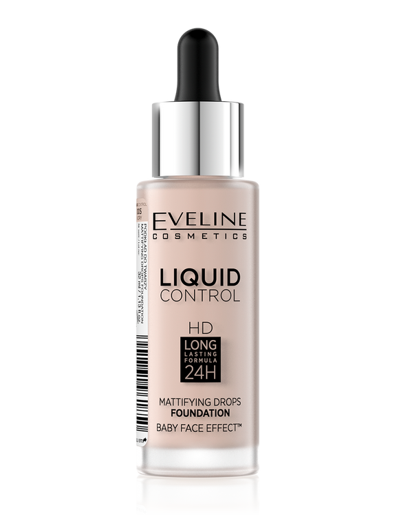 Eveline Liquid Mattifying Drops Foundation 05 - enemmall.com