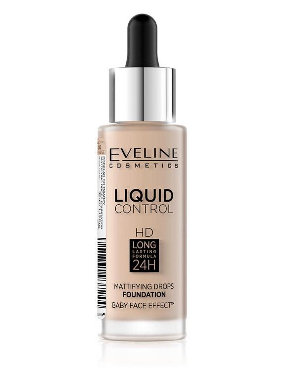 Eveline Liquid Mattifying Drops Foundation 10 - enemmall.com