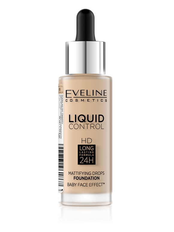 Eveline Liquid Mattifying Drops Foundation 15 - enemmall.com