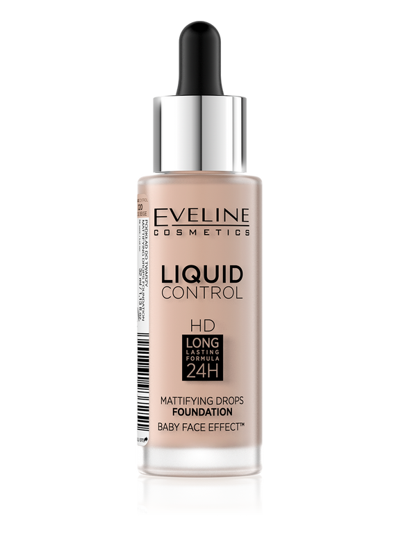 Eveline Liquid Mattifying Drops Foundation 20 - enemmall.com