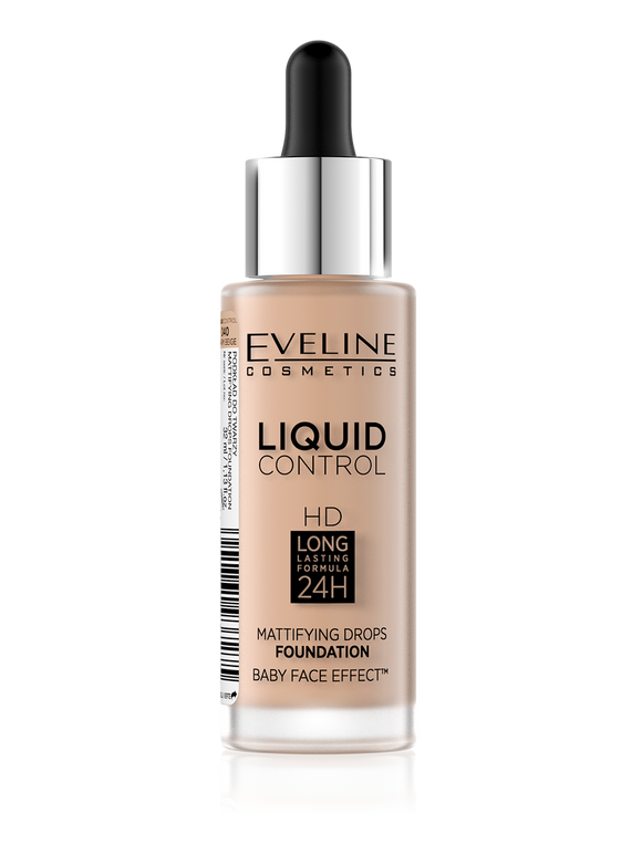 Eveline Liquid Mattifying Drops Foundation 40 - enemmall.com