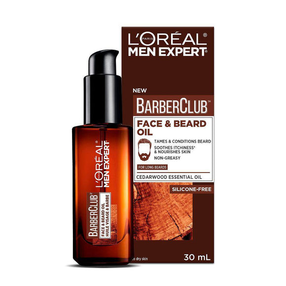Loreal Men Expert Barber Club Long Beard & Skin Oil 30ml