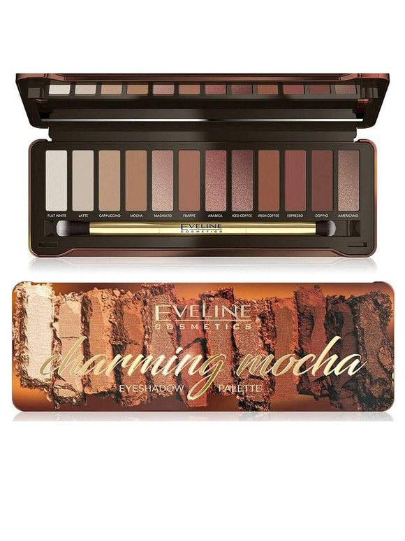 Eveline Charming Mocha Eyeshadow Palette - enemmall.com