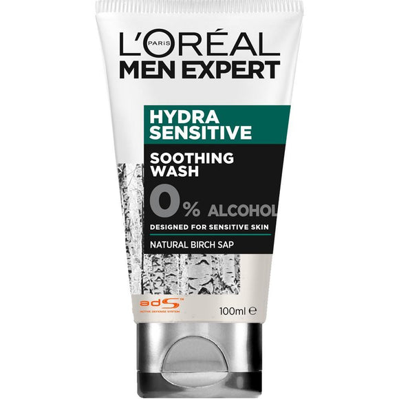 Loreal Men Expert Hydra Sensitive Wash 100ml - enemmall.com