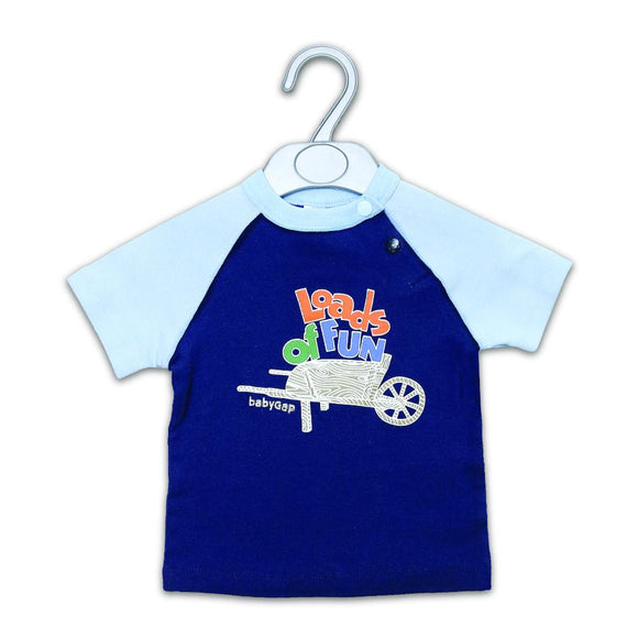 Gap Boys S/S Crew Neck With Leads Of Fun Print R-780 - enemmall.com