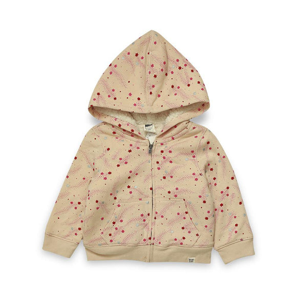 Gap Girls F/O Zipper Hoodie With Stars Print #19 (W18) - enemmall.com