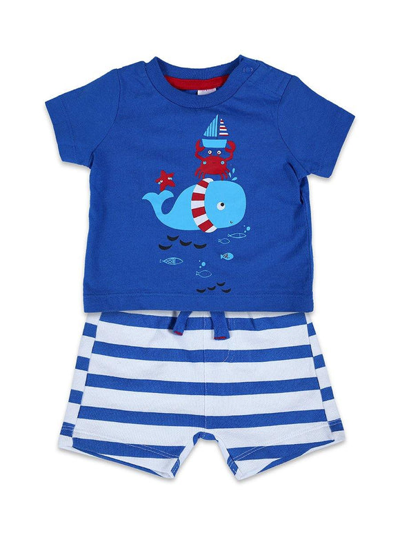 Imp Boys Knicker Suit H/S With Front Fish Pach # 1 (S-19) - enemmall.com