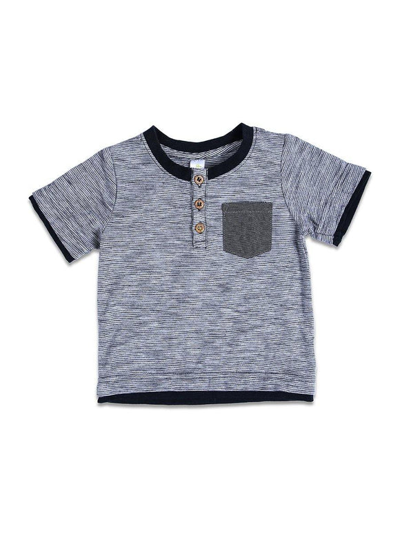 Imp Boys T-Shirts Creaw Neck H/S With Front Pocket # 9 (S-19) - enemmall.com