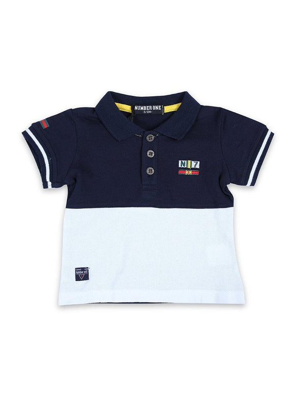 Imp Boys Polo T-Shirts H/S With N7 Emb # 262 (S-19) - enemmall.com