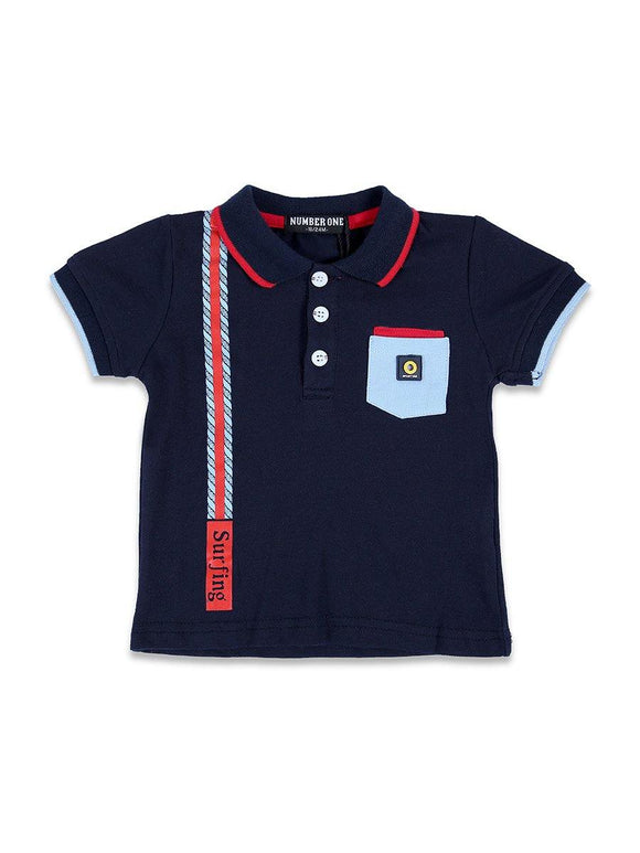 Imp Boys Polo T-Shirts H/S With Front Pocket # 257 (S-19) - enemmall.com