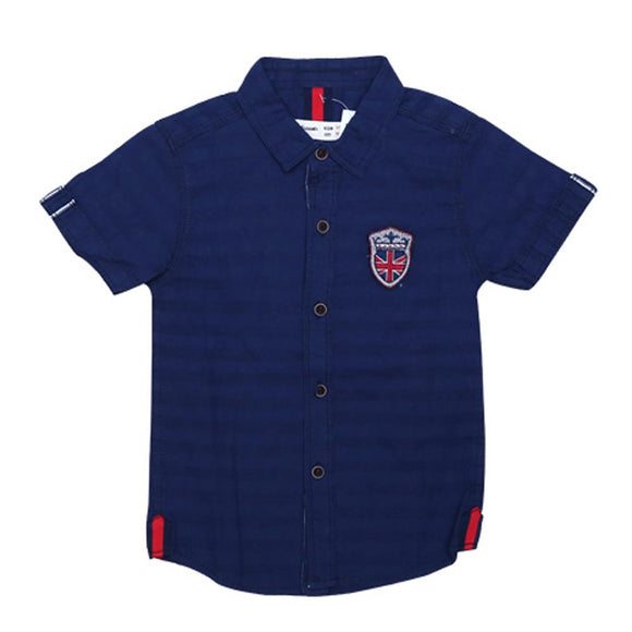 Imp Boys Shirt H/S With England Flag Emb - enemmall.com