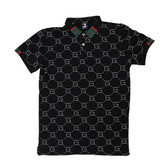 Imp Boys Polo T-Shirt H/S With Gucci Logo Emb P127 - enemmall.com