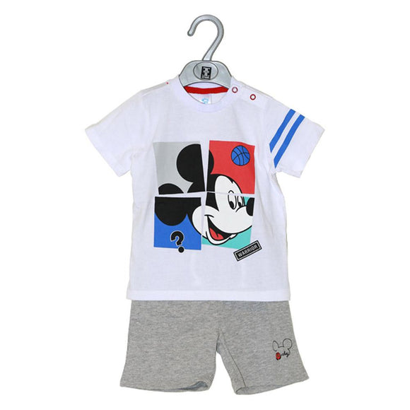 Imp Boys H/S Knicker Suit With Mickey Patch #11 - enemmall.com