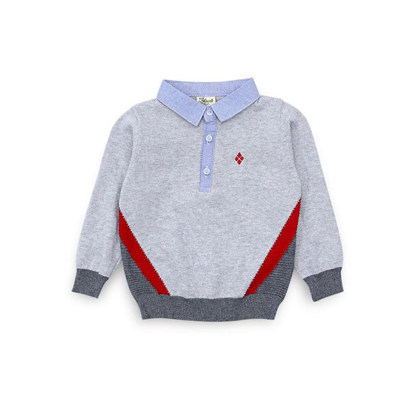 Imp Boys Sweater L/S With Shirt Style #95217 (W-19)
