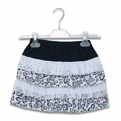 Imp Girls Cotton Skirt With Bytterfly Print #66123 (S-20) - enemmall.com