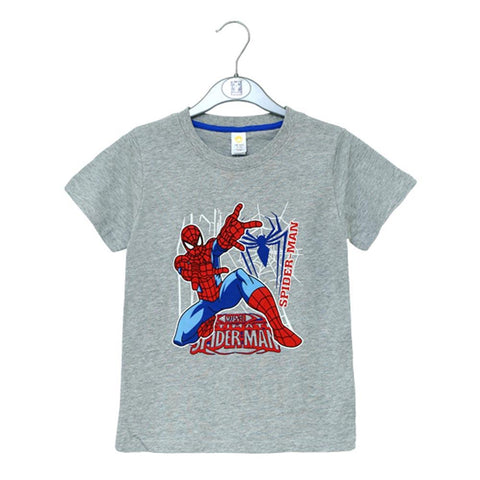 Imp Boys H/S Crew Neck T-Shirt With spider man print #8 S-20 - enemmall.com