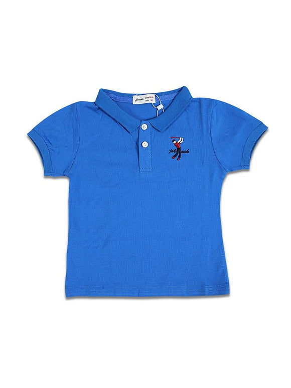 Imp Boys H/S Polo T Shirt With Polo Man Emb #2 - enemmall.com