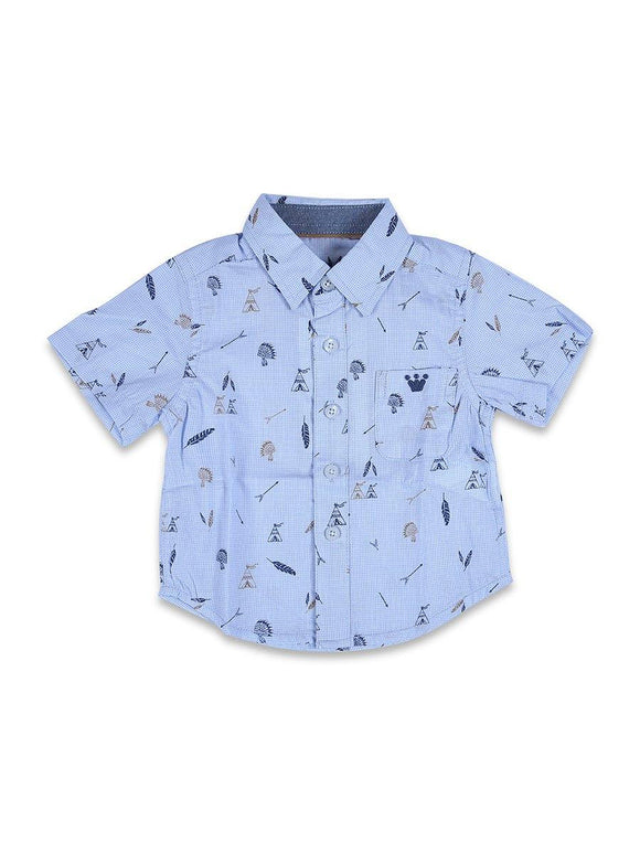 Imp Boys H/S Shirt With Pocket & Red Indians #16 - enemmall.com