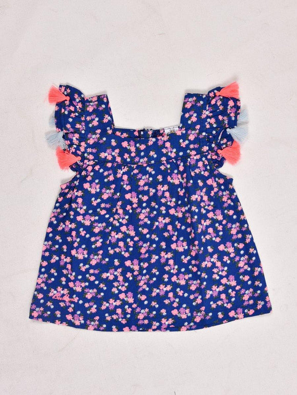 Imp Girls S/L Blouse With Flower Print #192776