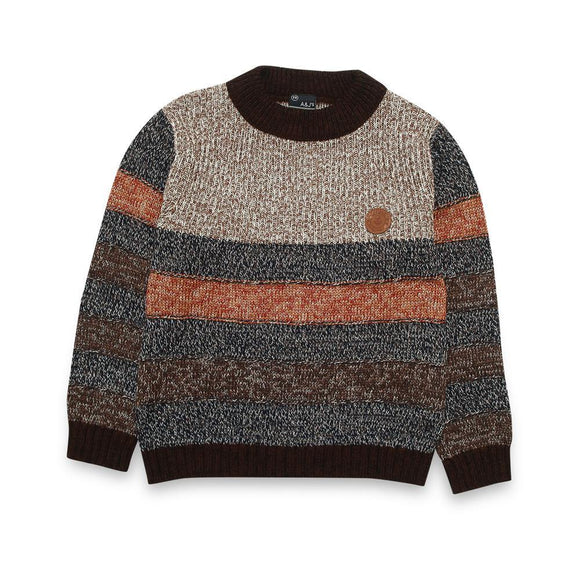 A & J Boys Round Neck Sweater L/S # BT-38720 (W-20)