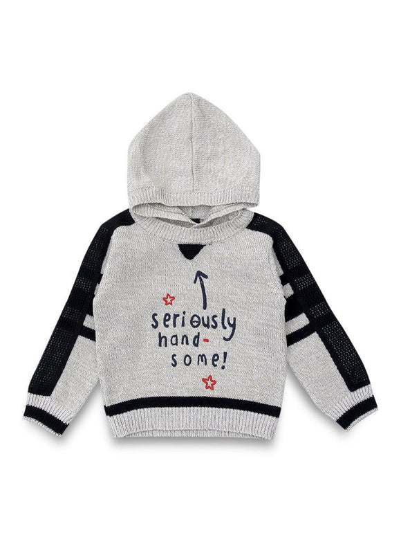A&J Boys Sweater L/S With Hood # BT50220 (W-20)