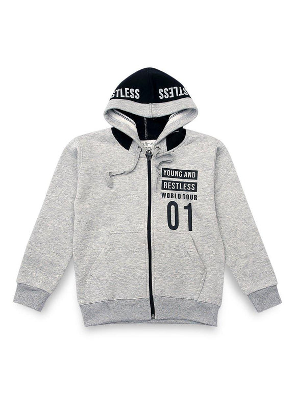 Linez Apparel Boys Hoodie With Hood # LA-20-BFHW-004 (SB)