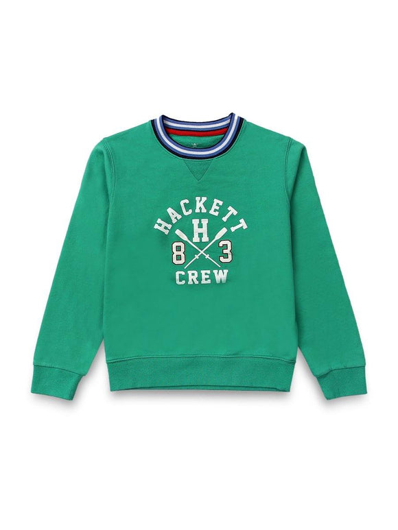 Hackett Boys Sweat Shirt Round Neck L/S (W-20)